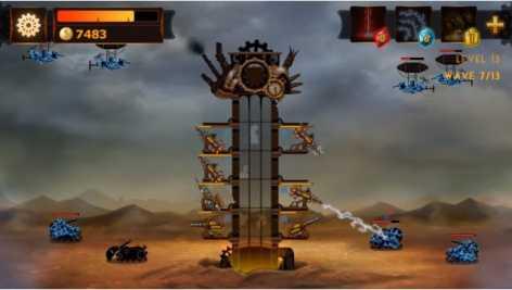 Steampunk Tower взлом (Мод много денег)