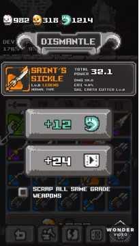 Tower Breaker - Hack & Slash взлом (Мод свободные покупки)