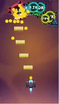 Virus War - космическая игра-стрелялка взлом (Мод много денег)