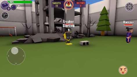 Pixel's unknown battle ground, взлом (Мод много денег)