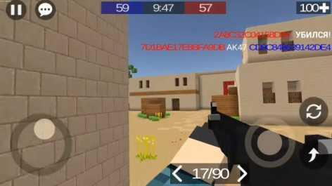 Pixel Combats 2 взломанный (Mod: много денег)