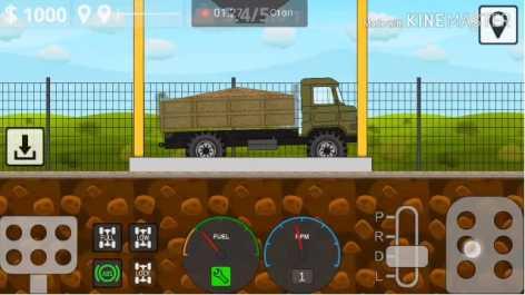 Mini Trucker взломанный (Мод на деньги)