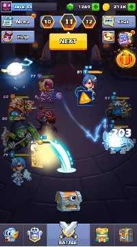 Taptap Heroes взлом (Mod: много денег)