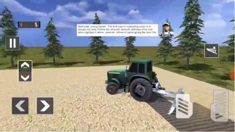 Farming Simulator 19: Real Tractor Farming Game взлом (Мод много денег)