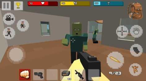 Zombie Craft Survival взлом (Мод на на патроны и деньги)