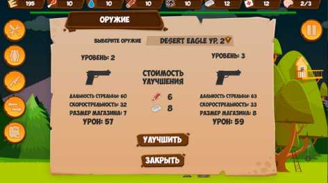 Zombie Forest HD: Survival взлом (Мод много денег)
