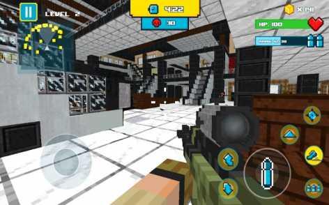American Block Sniper Survival взлом (Mod: много денег)