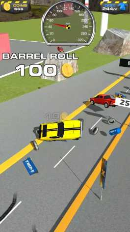 Ramp Car Jumping взломанный (Mod: много денег)