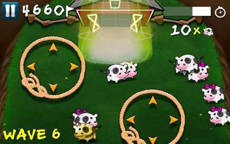 Коровы Против Пришельцев взломанный (Мод много денег)
