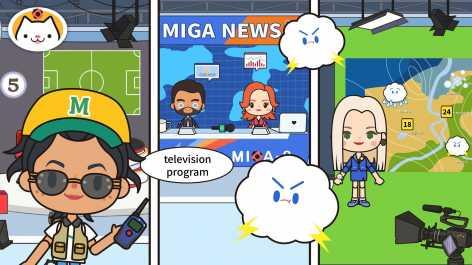 Miga Город: ТВ шоу взломанный (Мод все открыто)