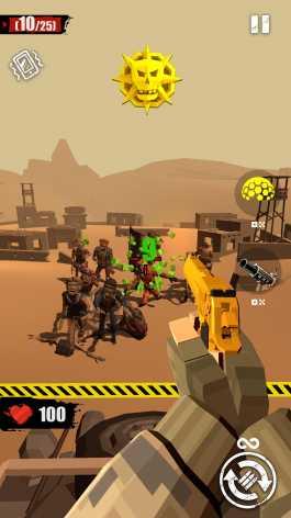 Взлом Merge Gun: Shoot Zombie (Мод много денег)