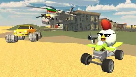 Chickens Gun взлом (Mod: много денег)