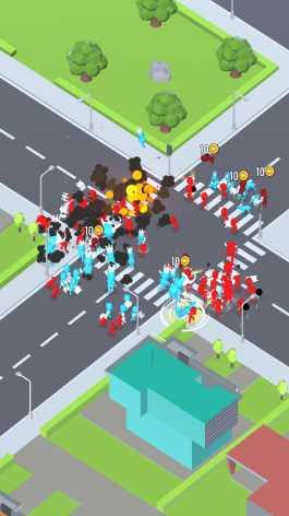Gang Clash взлом (Мод много денег)