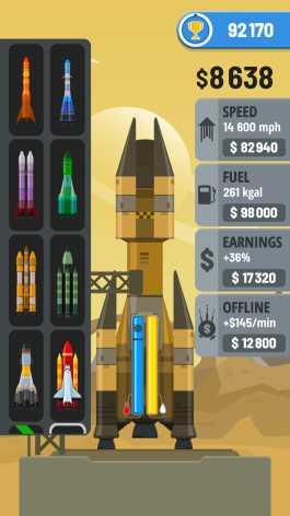 Rocket Sky! взлом (Мод без рекламы + много денег)