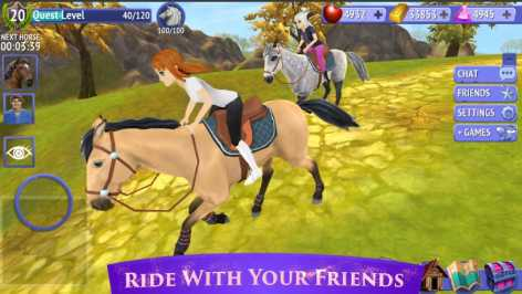 Horse Riding Tales - Ride With Friends взлом (Мод много денег и кристаллов)