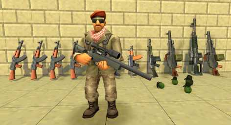 Взломанный StrikeBox: Sandbox&Shooter (Мод много денег)