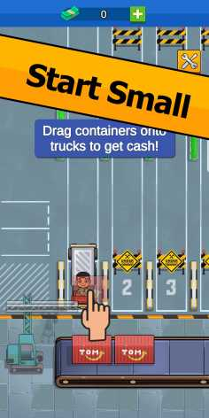 Transport It! - Idle Tycoon взломанный (Мод много денег)