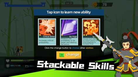 Stickman Master: Archer Legends взломанный (Мод много денег)