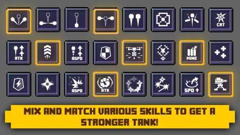 Tank Block Blast взломанный (Мод много денег)