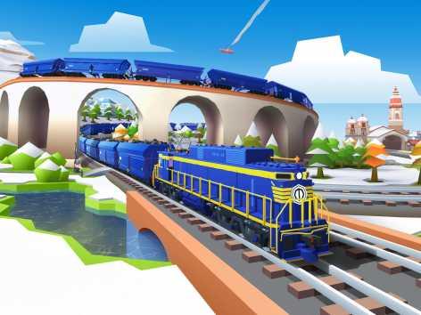 Train Station 2: Стратегия-симулятор с поездами взломанная (Мод много денег)