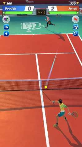 Tennis Clash: 3D Sports - Free Multiplayer Games взломанный (Мод много денег)