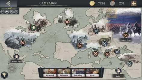 European war 6: 1914 взломанный (Мод много денег)