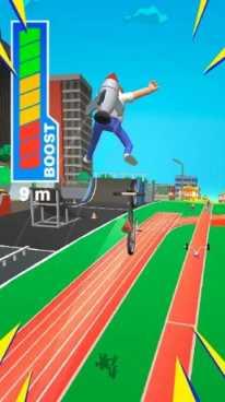 Bike Hop: 3D Гонки, покори бездорожье! взлом (Мод много денег)
