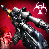 Взломанный Zombie 3D Gun Shooter- Real Survival Warfare (Мод много денег)