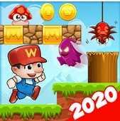 Super Bino Go 2 - New Game 2020 взломанный (Mod: много денег)