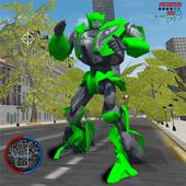 Взломанный Robot Car Super Transforme Futuristic Supercar (Мод много денег)