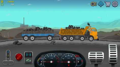 Дальнобойщики 2D грузовик симулятор взлом (Mod: много денег)