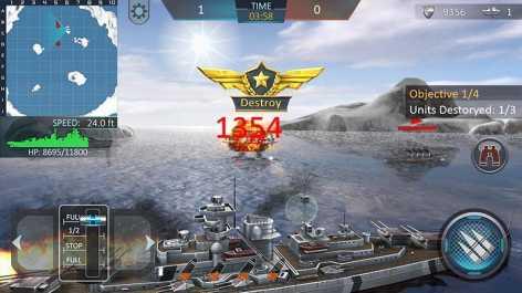 Атака военных кораблей 3D взлом (Мод много денег)