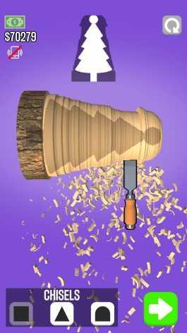 Взломанный Woodturning (Мод много денег/без рекламы)