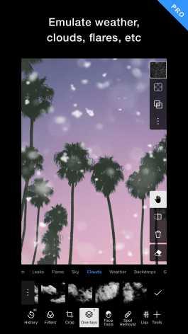 Polarr редактор фото (Мод все фильтры / полная версия)