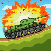 Взломанный Tank Attack 3 (Mod: много денег)
