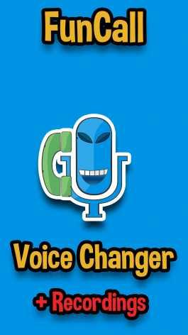 Funcalls – Voice Changer & Call Recording взломанный (Мод Pro / полная версия)
