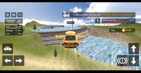 Flying Car Transport Simulator взлом (Мод много денег)