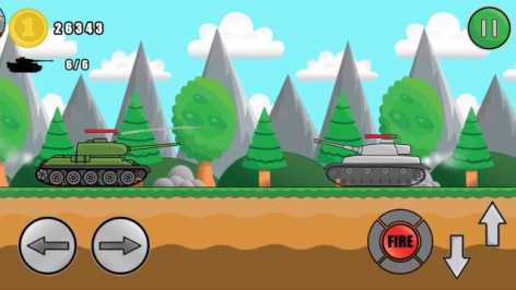 Tank Attack взломанный (Мод много денег)