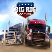 Взломанный Big Rig Racing (Mod: много денег)