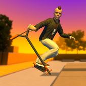 Street Lines: Scooter взломанная (Мод много денег)