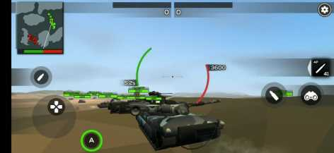 Взлом Poly Tank 2: Battle Sandbox (Мод много денег)