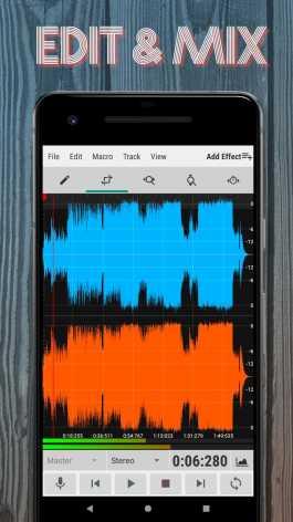 WaveEditor for Android™ Audio Recorder & Editor (Мод pro/полная версия)