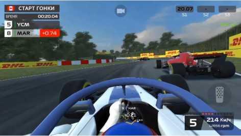 F1 Mobile Racing взломанный (Мод много денег)