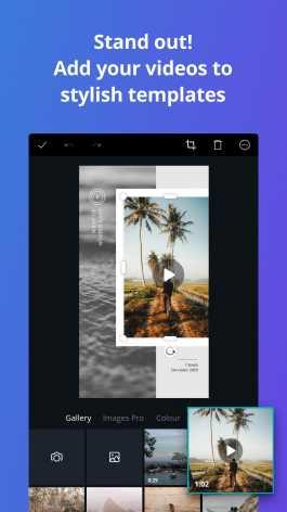 Canva: создать логотип, текст на фото, видео коллаж Mod pro