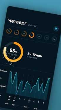 Взломанная Sleep Cycle alarm clock (Мод Premium)