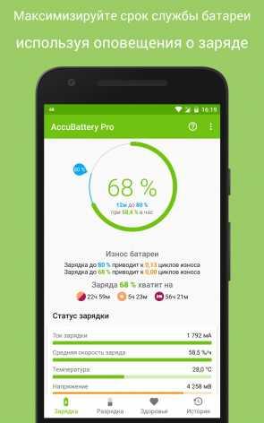 AccuBattery - Батарея Mod pro