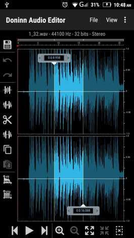 Doninn Audio Editor (Мод pro/полная версия)