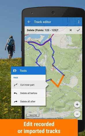 Locus Map Pro - наружная GPS-навигация и карты взлом (Мод полная версия)