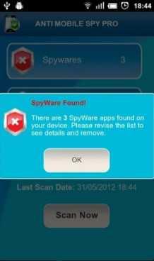 Anti Spy Mobile Free (Мод pro/полная версия)