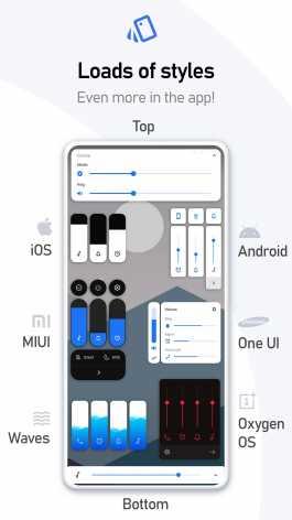 Взлом VolumeStyles - Настройте слайдер громкости (Mod: Premium)